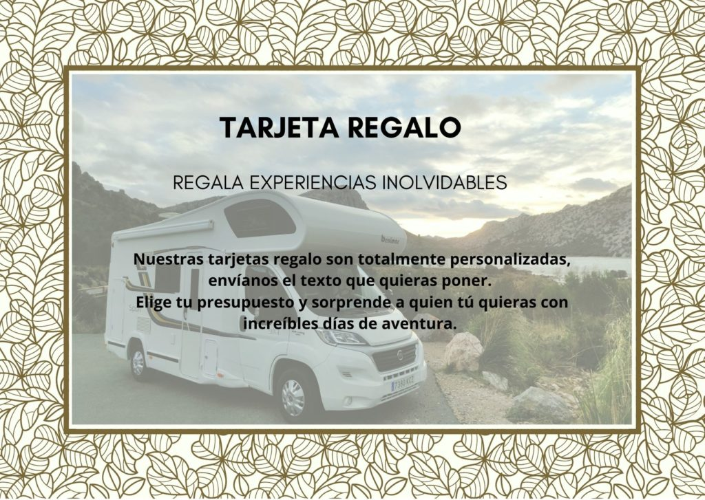 Mallorca On Road - Tarjeta Regalo alquiler autocaravanas